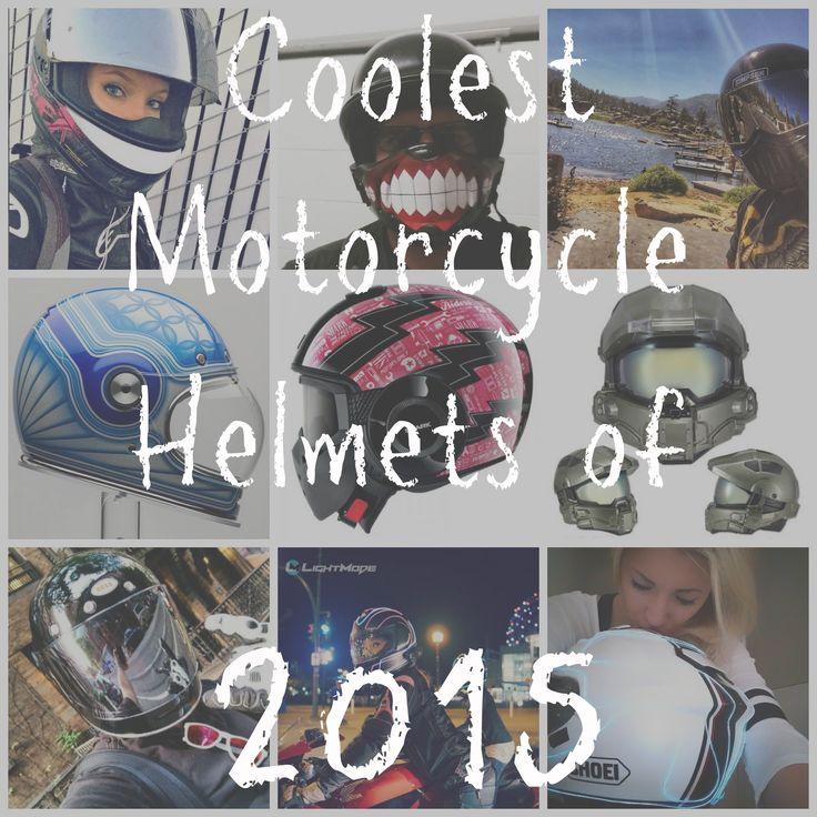 Coolest Motorcycle Helmets of 2015