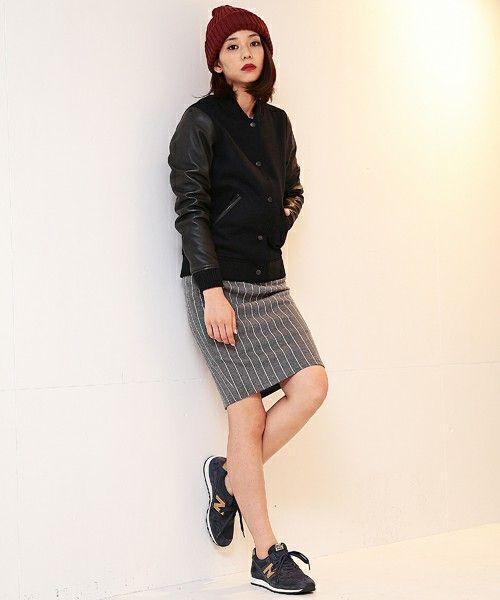 タイトスカートと合わせて大人なちゅらるな雰囲気☆ 人気のおすすめスタジャン一覧。レディースファッションまとめ。