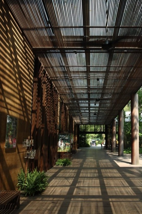 #15 Singapore Zoo Entrance Plaza by Kerry HillArchitects