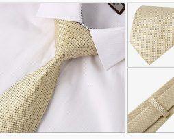 Luxusný kravatový set - kravata + vreckovka + manžety + spona(1)