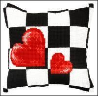 Chunky Cushion - Hearts