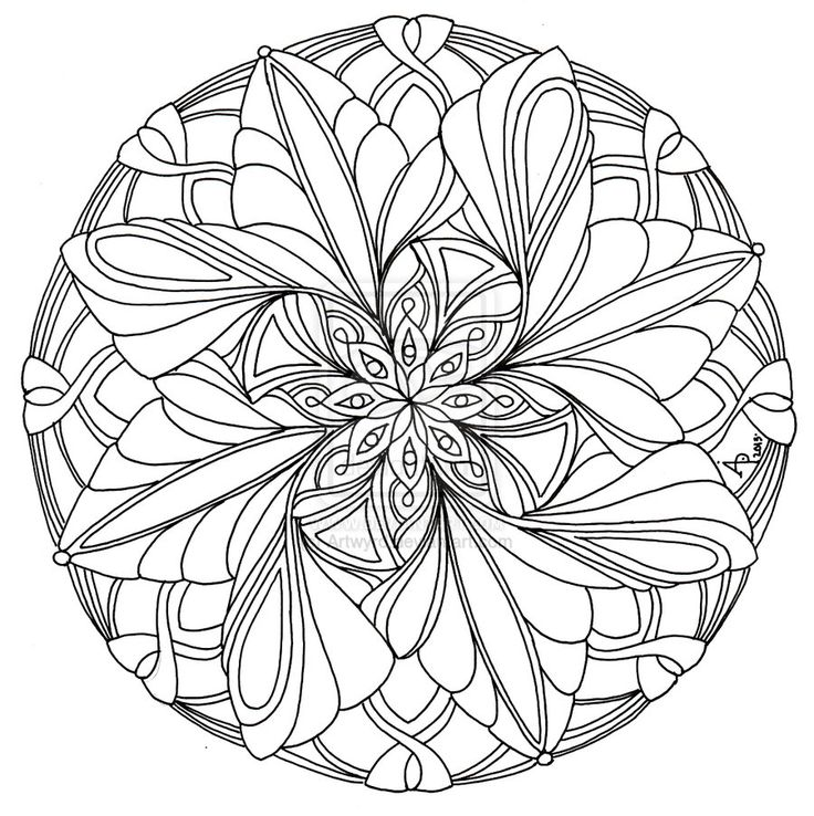 mandala 1 july 2013 by artwyrddeviantartcom on deviantart coloring pages mandalacolouring pagescoloring