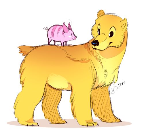 victroladoll:  captainalbertalexander:  sutexii:  pooh-bear and piglet ❤  holy shit  THIS IS MY NEW FAVORITE THING EVER!!