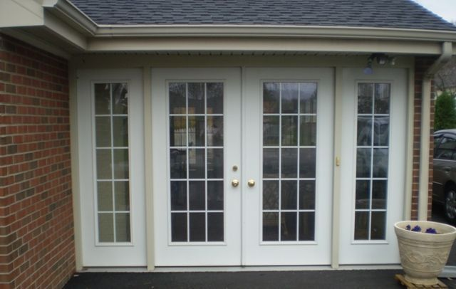 Enclosing carport ideas carport converted to sunroom for French garage doors