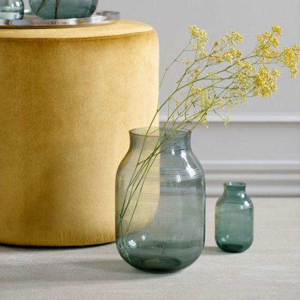 Omaggio Glass Vase Green Large / Omaggio / New