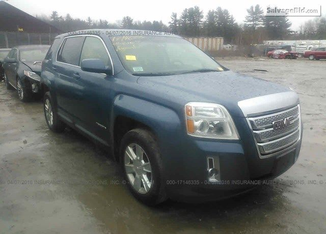 #SalvageSUVs 2011 #GMC TERRAIN for Sale at SalvageBid. Join Live Auction!