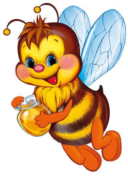 Посмотреть иллюстрацию Татьяна - пчёлка. персонаж,открытка