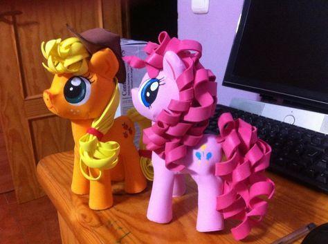 My litter pony fofucho o en Goma Eva - PatronesMil