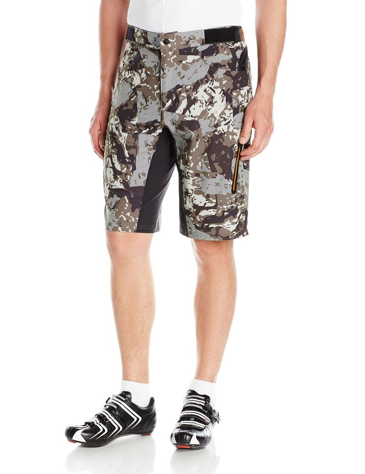 zoic men's ether cycling short + essential liner