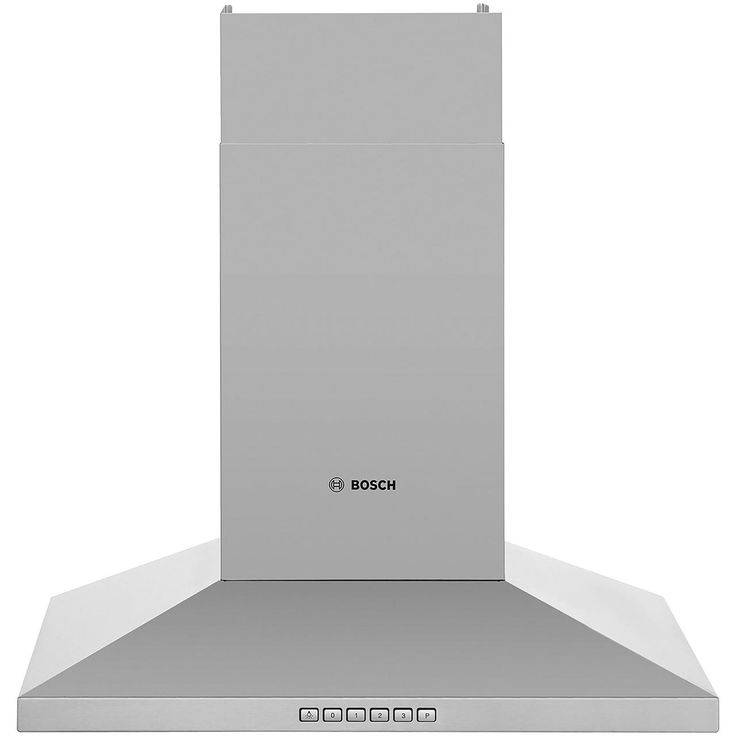 Bosch Serie 4 DWW067A50B 60 cm Chimney Cooker Hood - Brushed Steel