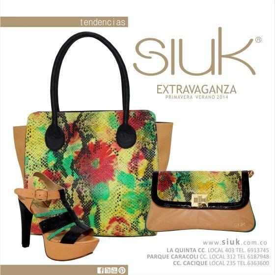 Colores y texturas de nuestra colección EXTRAVAGANZA