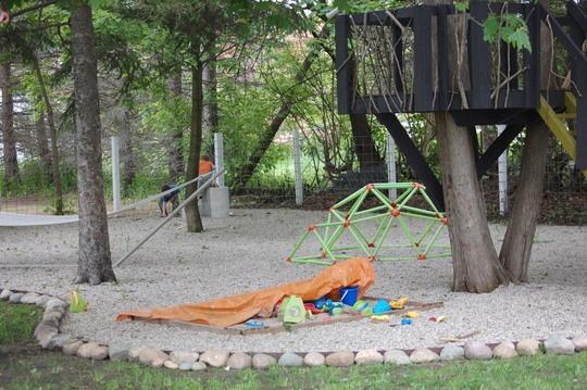 Backyard Treehouse Pediatric Therapy Center : My Great Outdoors Kates Family Play Area