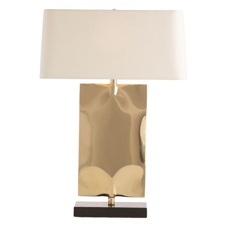 Arteriors navarro lamp h x 20 w x 9 deep for console