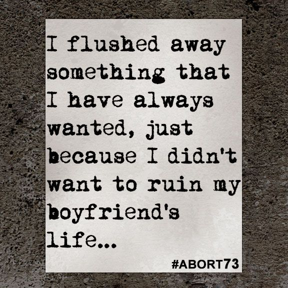 This abortion story came to Abort73 through our online submission form and was received from Michigan on February 11, 2016.