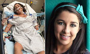 College student who nearly died from acute alcohol poisoning after an underage binge-drinking session left in her a coma pens powerful essay about the terrifying ordeal to educate others on the dangers of alcohol | Daily Mail Online