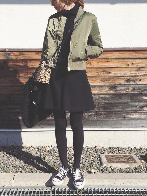 Sato*│mysty woman Blouson Looks - WEAR