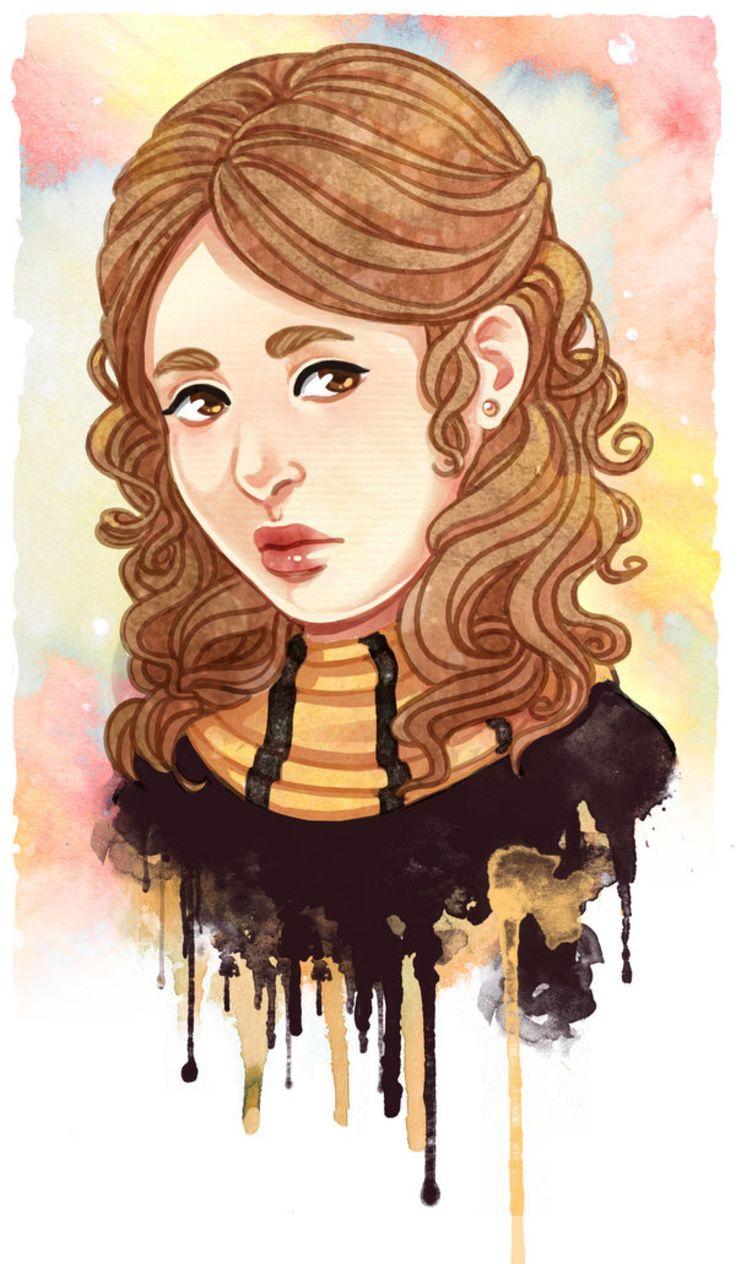 Lyudmila Krum by Acaciathorn on DeviantArt Harry potter