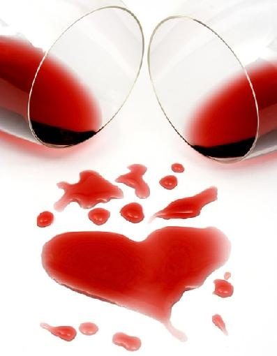 Coracao Fotos & Imagens - Fotos de CoracaoWineart, Valentine Day, Wine Art, Red Wine, Drinks Wine, My Heart, Wine Lovers, Mini-Garrafa De Vinho, Romantic Meals