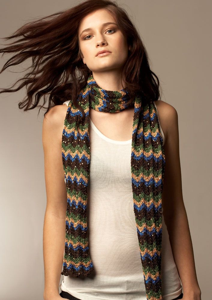Knit Jo Sharp — 091 shrug & scarf -digital download