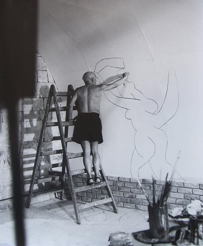 Picasso Painting Wall