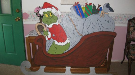 The Grinch that stole Christmas in his by DestinysCustomDesign