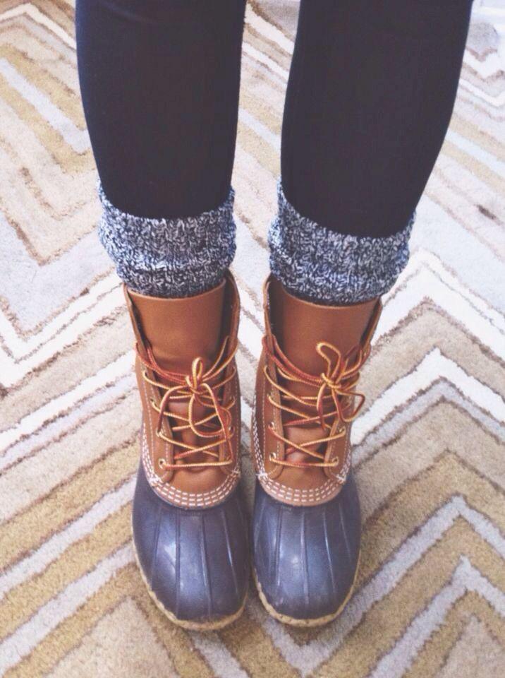my bean boots!