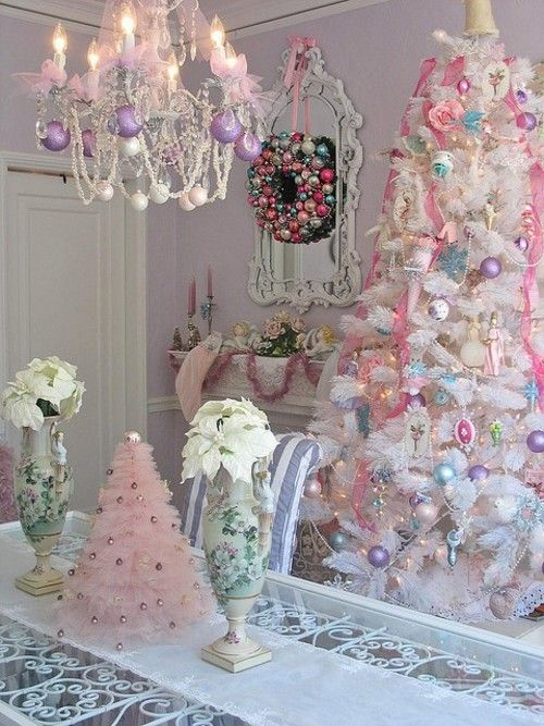 Humm thinking I would love this white Christmas tree this year.  Will my DH flip-We already have 4 full size trees-but the white is calling me.