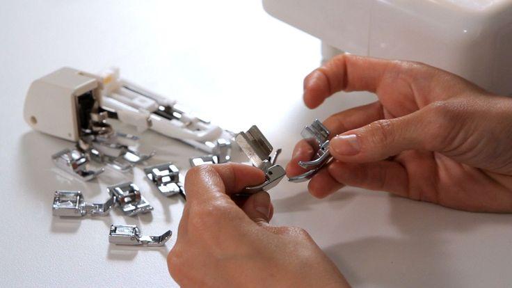 What Are Presser Feet? | Sewing Machine