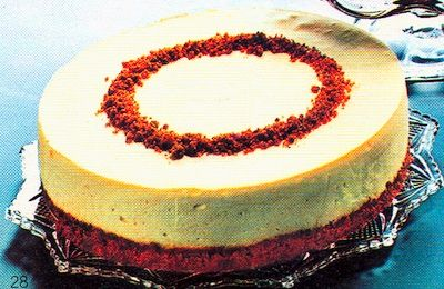 Recipe Bacardi Rum Cheese Cake 1970 S Recipelink Com