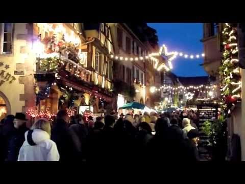 Riquewihr Alsace Marché de Noël - A Sunday evening on the Christmas market