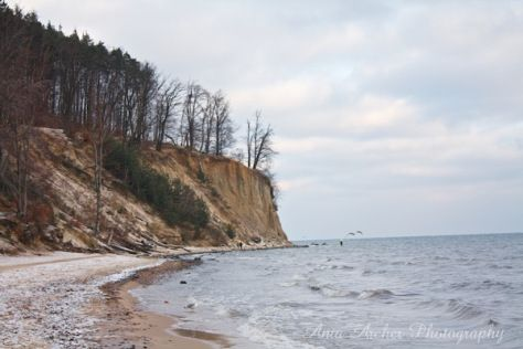 Ania Archer Photography, Travel Theme: Beaches, Gdynia, Poland, Cliff, Winter