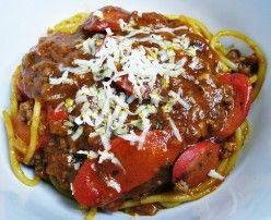 Filipino Spaghetti is one of the top seven staple for Filipino Special Occasion