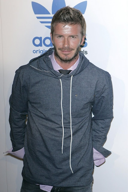 David Beckham really owns his style. And mixes it up quite successfully.