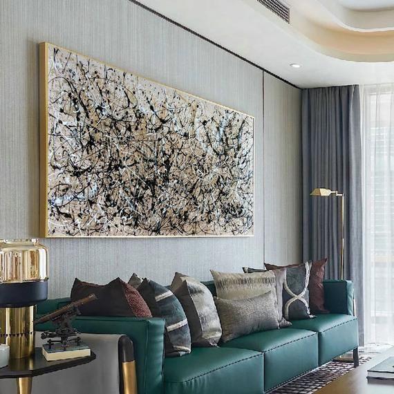 Extra Large Canvas Art Largeneutral Wallart Largeacrylic Etsy Extra Large Canvas Art Large Canvas Art Extra Large Wall Art