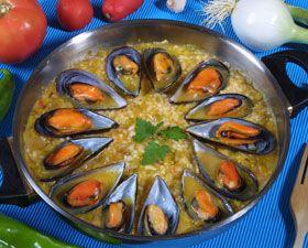 Arroz con mejillones by www.vinosyrecetas.com