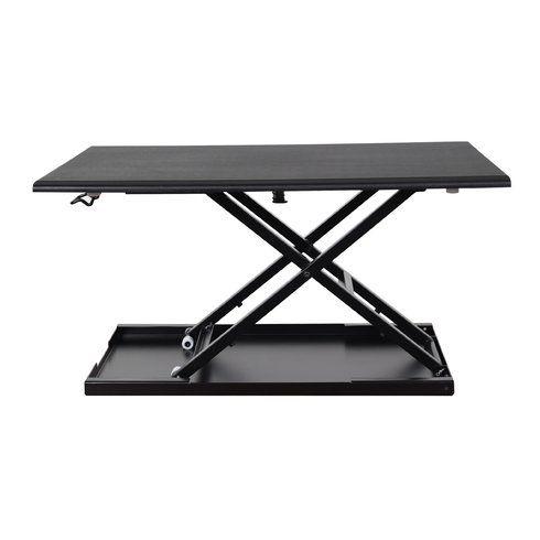 Pneumatic Adjustable Desktop Standing Desk