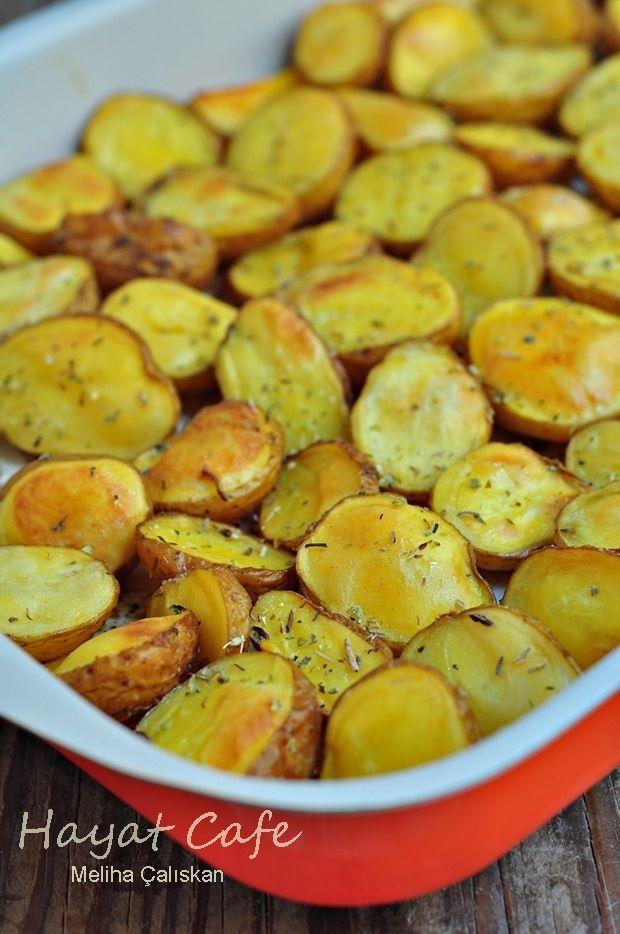 fırında patates kzıartması