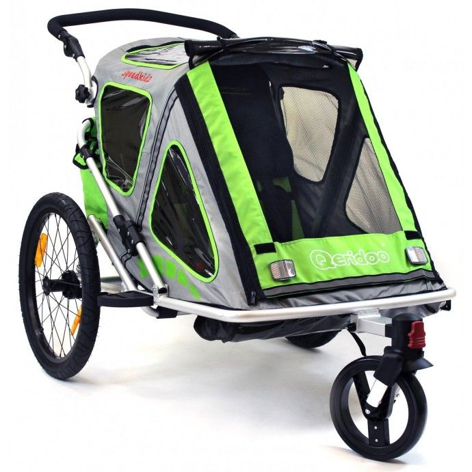 Qeridoo Speedkid2 polkupyörän peräkärry, 399,95 €. Huippusuosittu Speedkid2 polkupyörän peräkärry on todellinen jokapaikan kärry. Myös ystävän lapselle on tilaa kahden istuttavassa kärryssä. Säädettävä niskatuki ja pehmustettu istuinalusta tekevät matkustamisesta turvallista ja mukavaa. Ilmainen kotiinkuljetus! #polkupyöränperäkärry