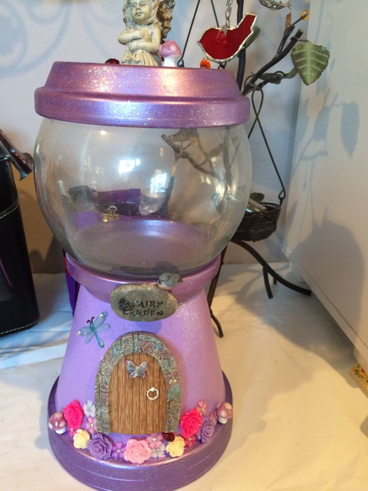 74 best gumball machine candy jars images on pinterest for Clay pot fish