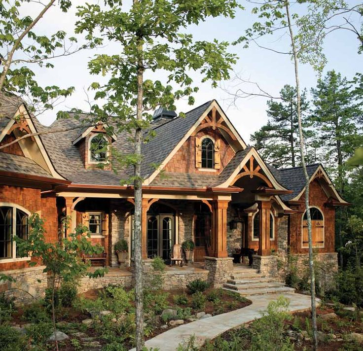 Best 25 rustic house plans ideas on pinterest Rustic mountain house plans