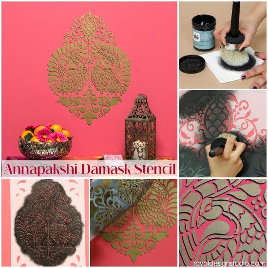 3 Easy Stencil Techniques Featuring Our Indian Stencils Collection :: Hometalk