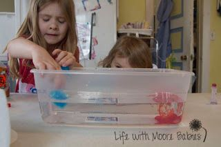 What Causes a Thunderstorm? Playful experiment from @Ashley At LifeWithMooreBabies #preschool #science #homeschool