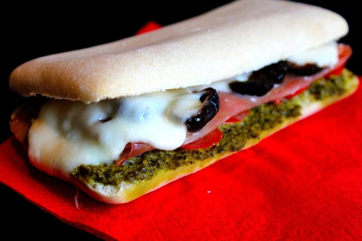 Sandwich Little Italy Façon Panini