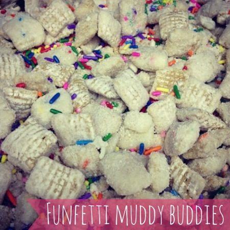 Funfetti Muddy Buddies | I LOVE Chex Mix/Muddy Buddies/Puppy Chow ...