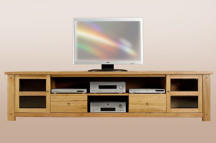 Mitchell River 2500 - Messmate Lowline TV Unit