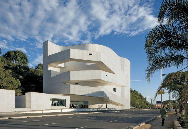 Happy 80th Birthday #AlvaroSiza (Iberê Camargo Foundation Museum in Porto Alegre, Brazil © Duccio Malagamba)