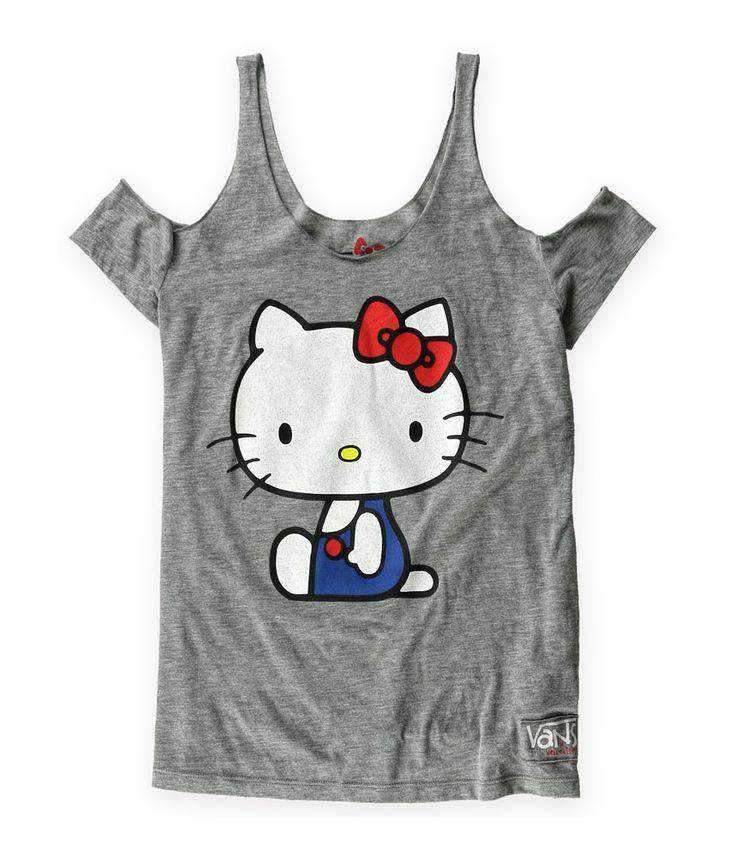 vans para mujer hello kitty misfit tank top
