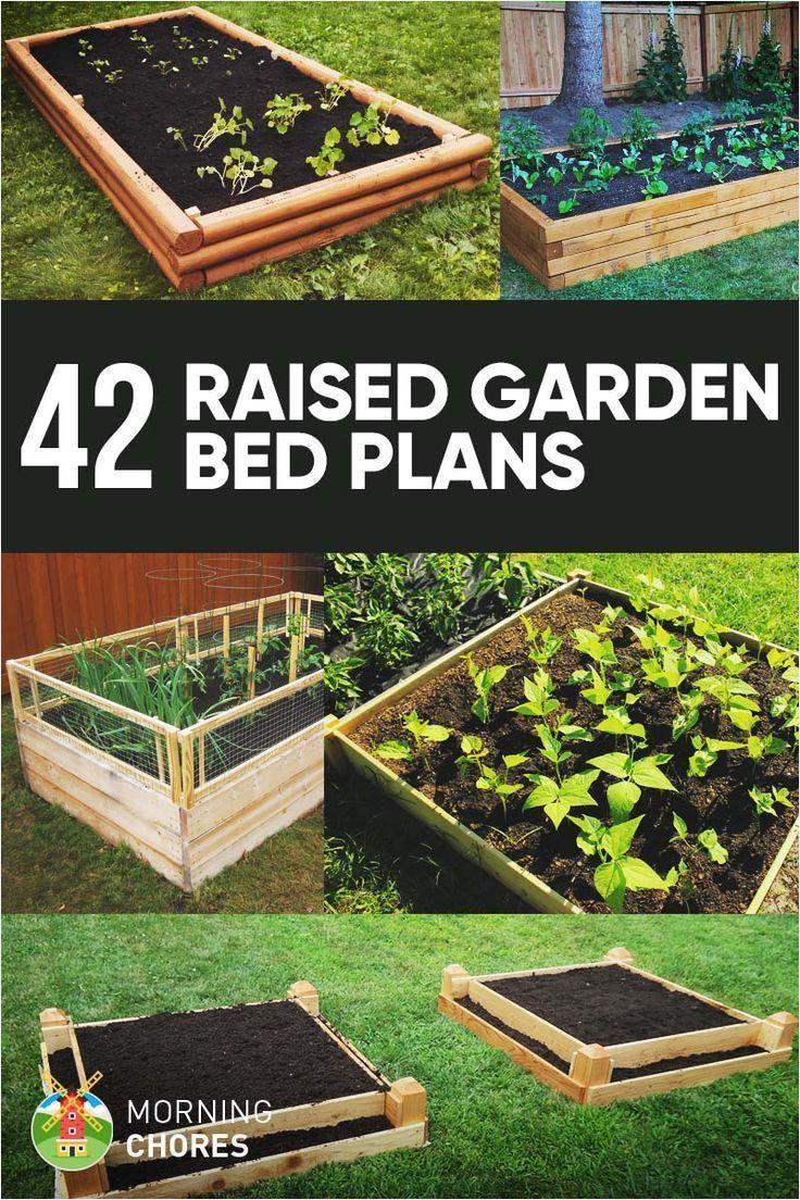 Pin On Gardening Backyard garden raised bed plans