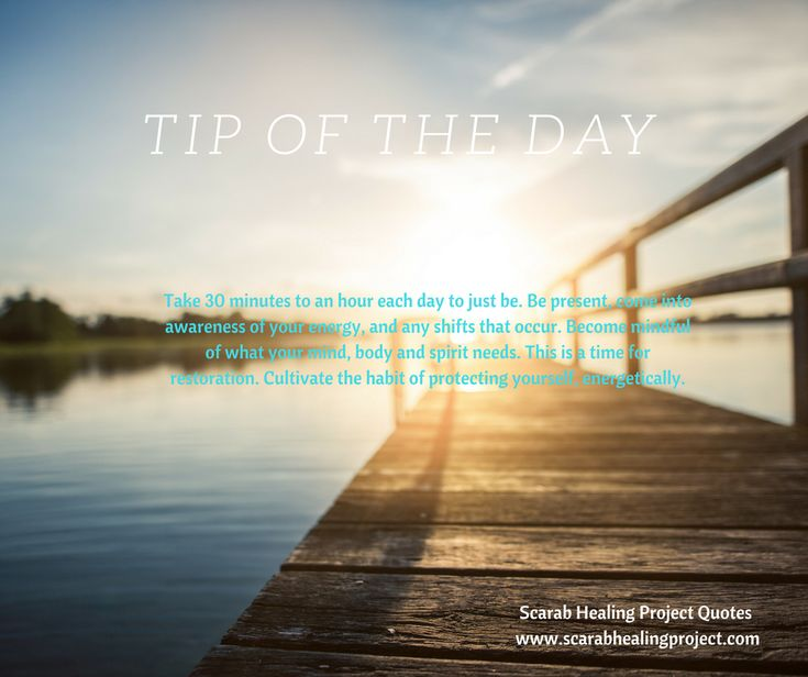 Tip of the day: With inspiration from Scarab Healing Project.   https://www.facebook.com/scarabhealingproject/