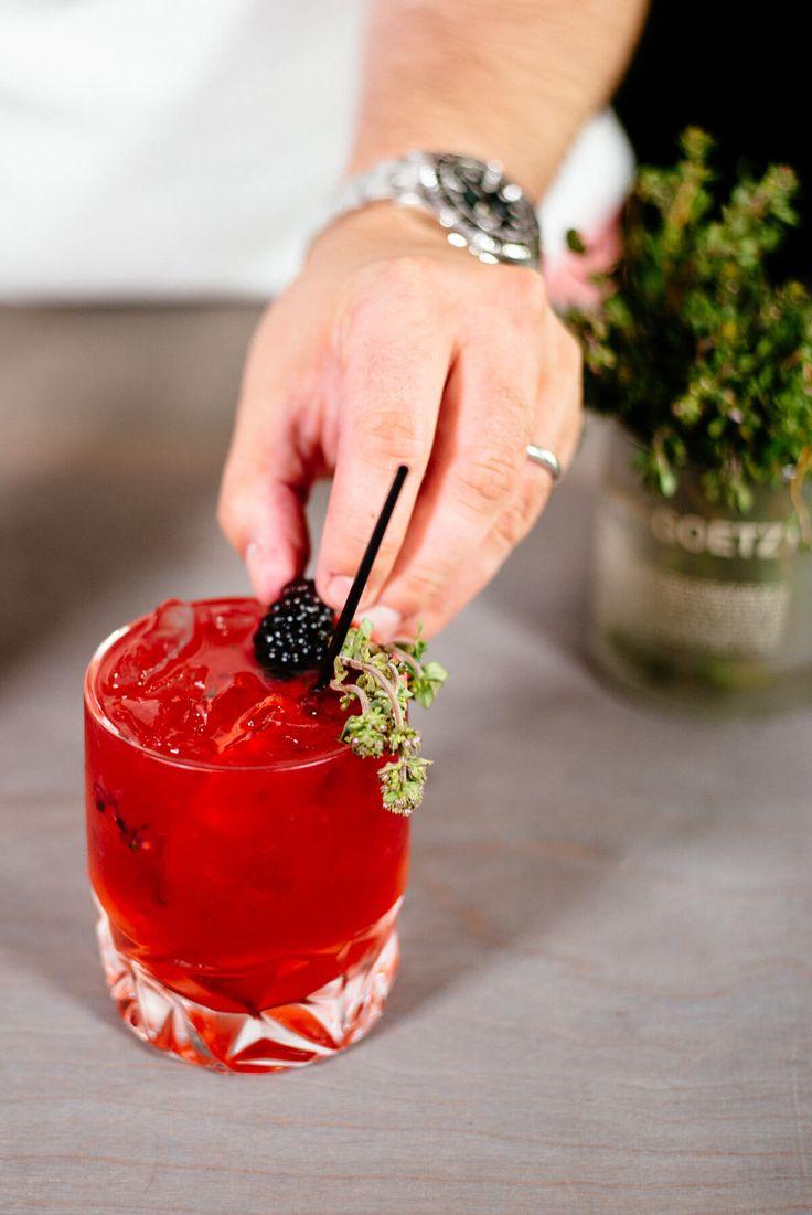 Blackberry Elderflower Gin and Tonic - The Taste SF